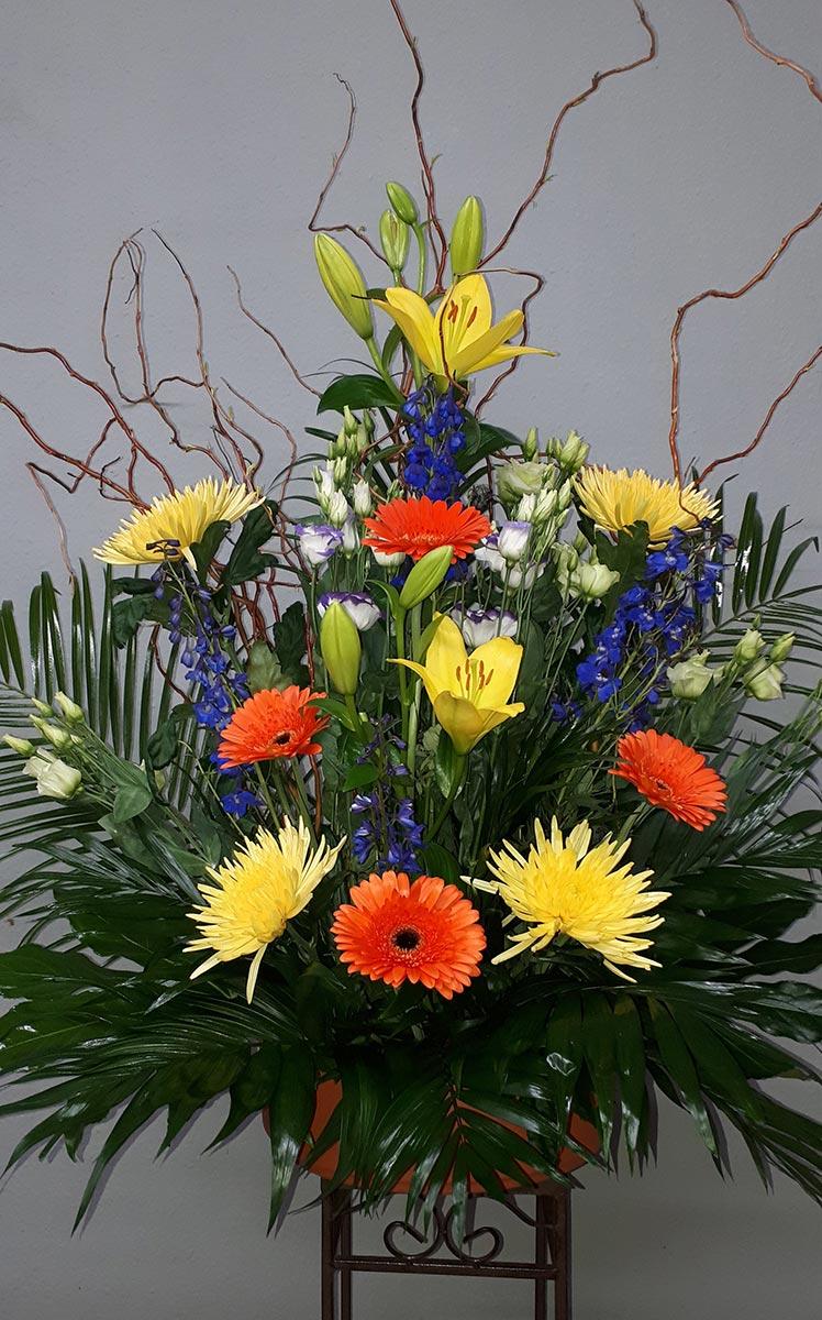 Blumen Dekoration Blumenschale