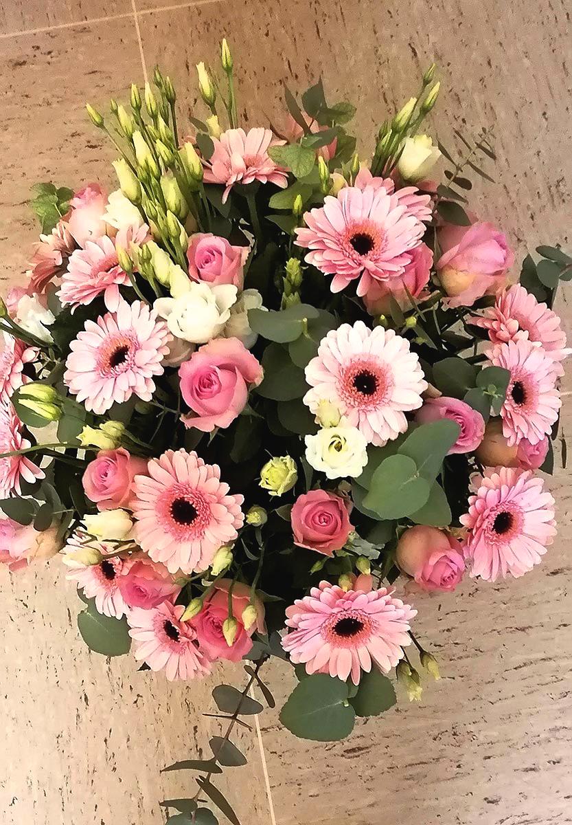 Blumen Rosen Rosa Srauss