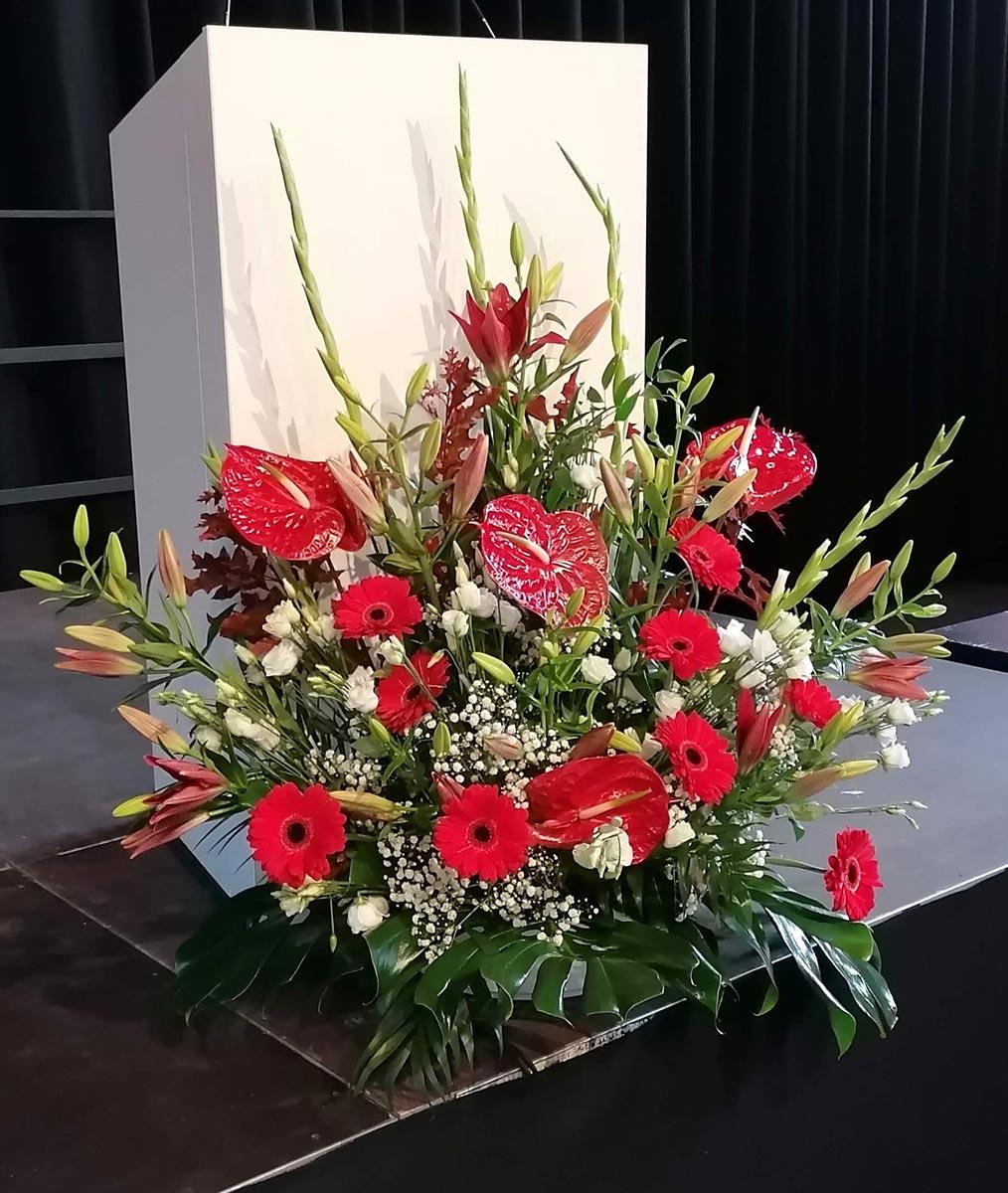 Gesteck Blumen Veranstaltung Dekoration