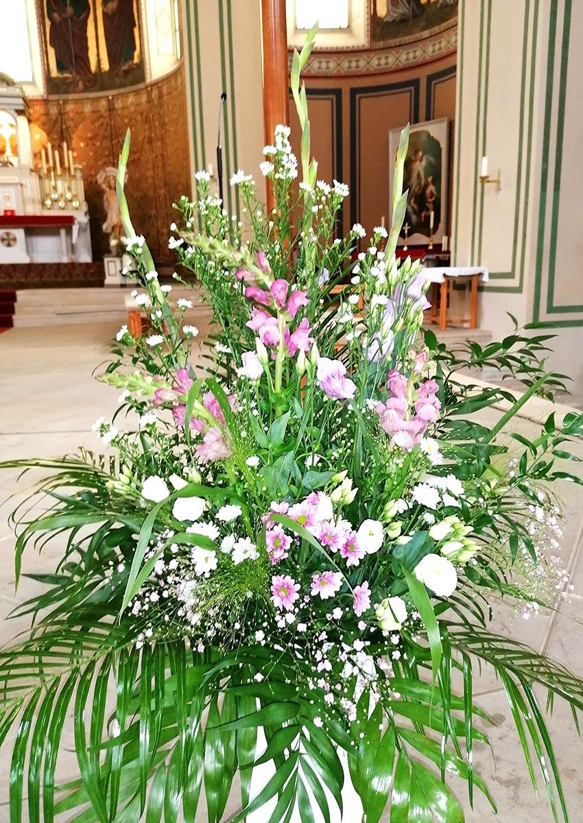 Hochzeit Blumenstrauss Vase