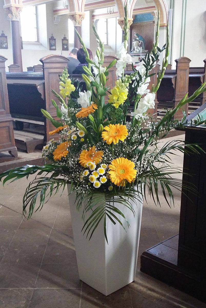 Kirchen Hochzeit Vase