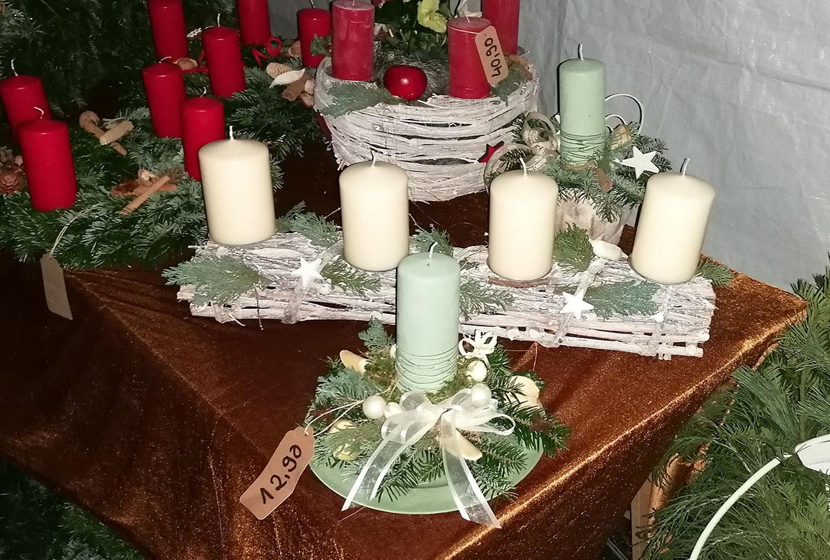 Modern Holz Weihnacht Kerzenhalter