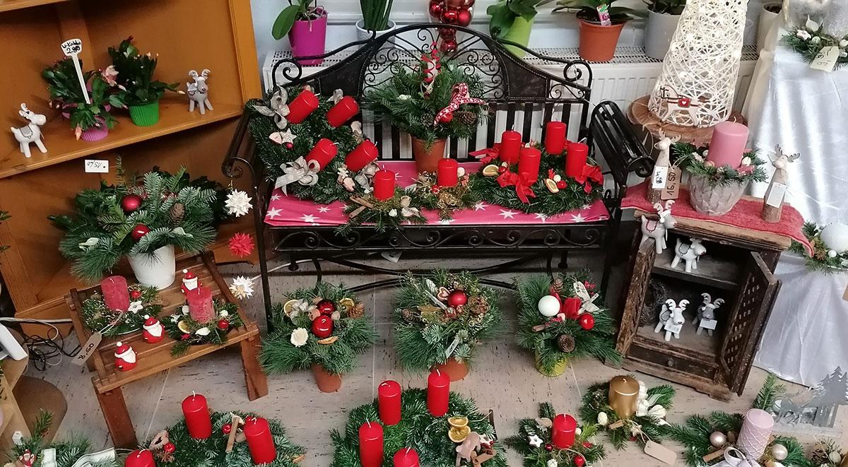 Weihnachtsausstellung Weihnachtsdekoration Advent