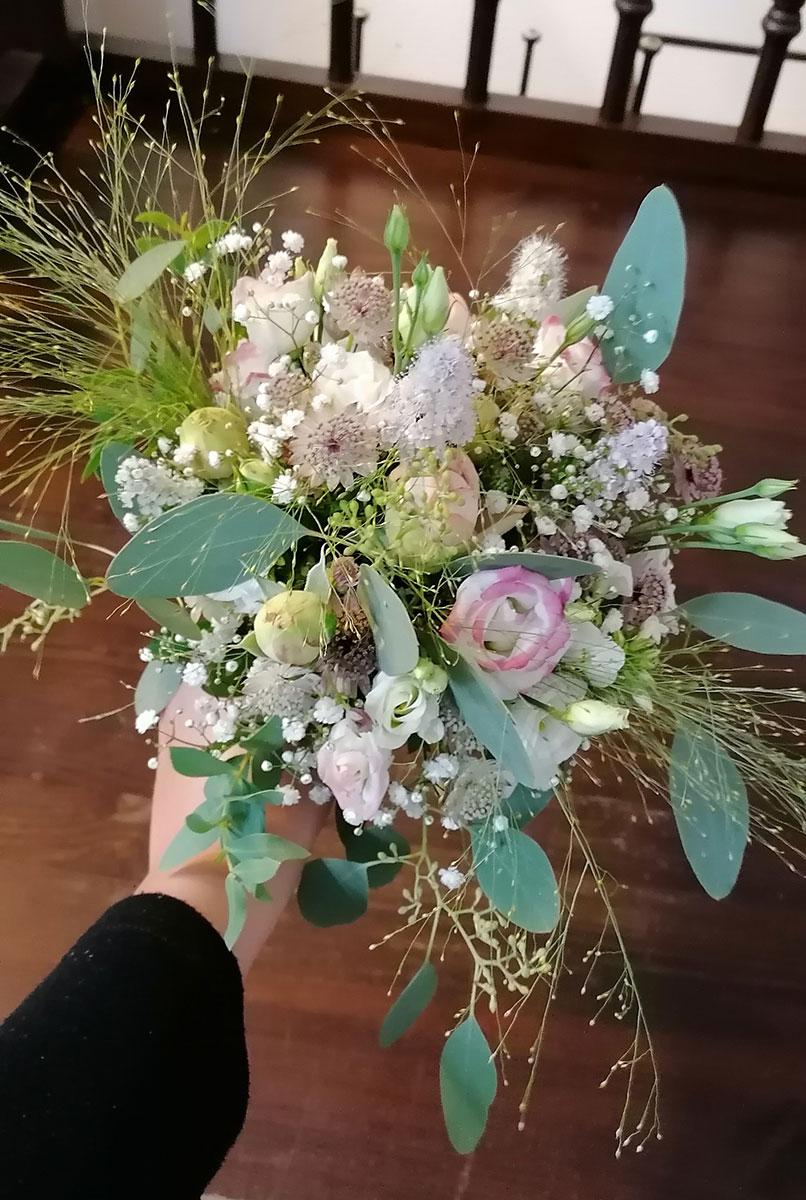 Schleierkraut rosee Hochzeit Blumen